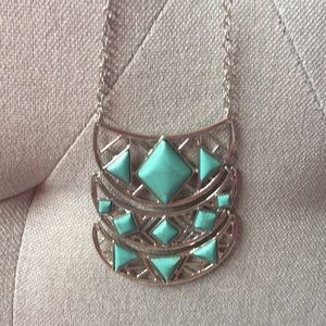 Jewelry - Faux Turquoise Necklace